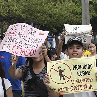 Imagen Millennials hastiados: el revelador estudio sobre las protestas de los jóvenes colombianos